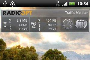 Traffic Monitor Widget