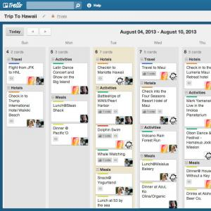 Trello power-up calendrier