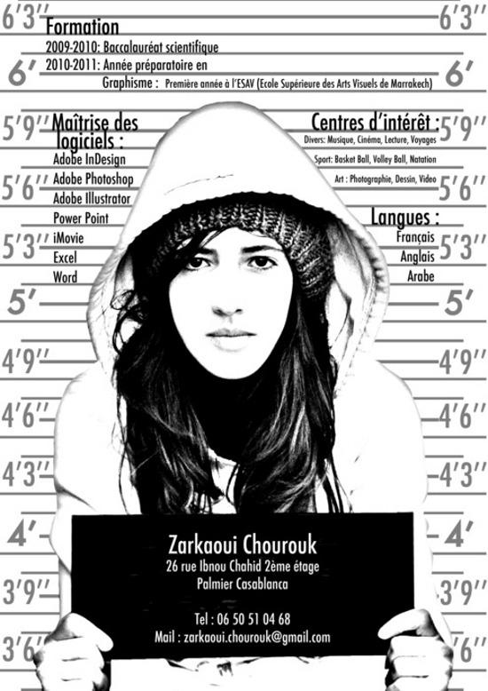 CV Zarkaoui Chourouk