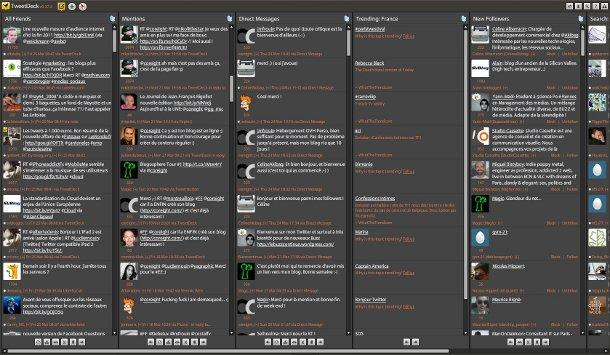 Tweetdeck Ubuntu Style