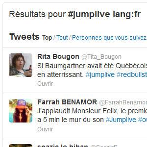 Twitter recherche langue