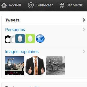 Twitter recherche