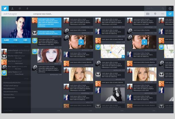 Twitter redesign par zsolt hutvagner