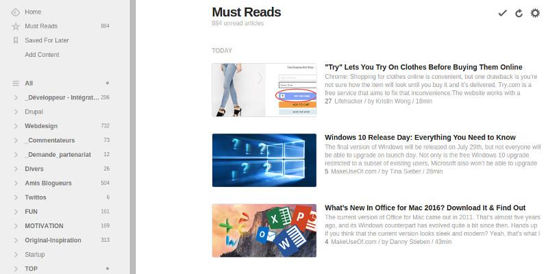 Veille techno outils sources d'infos
