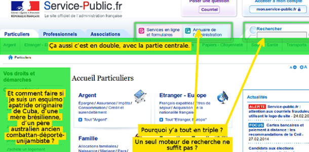 Sites web mal foutus