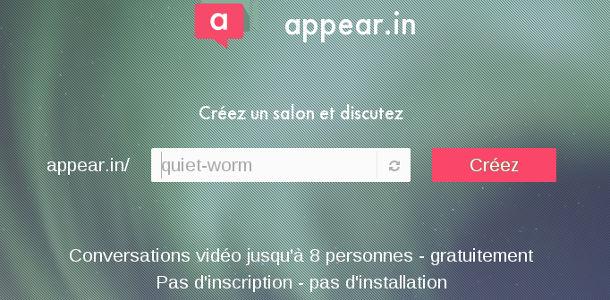 appear in