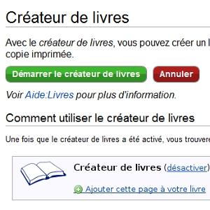 Wikipedia livres