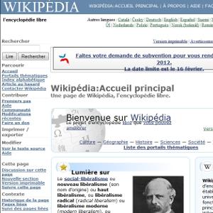 Wikipedia thèmes