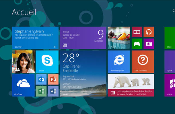 De Windows à Linux : Windows 8