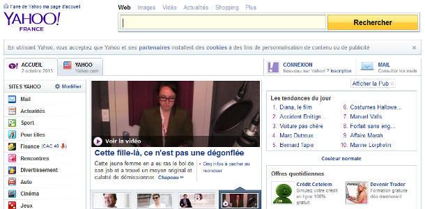 Yahoo portail